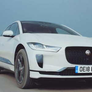 Jaguar I PACE Top Gear