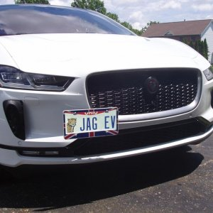 front plate mounted