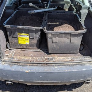 hauling dirt tubs in the iPace.jpg